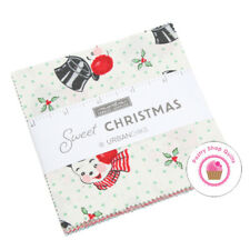 "Moda SWEET CHRISTMAS Urban Chicks CHARM PACK 42- 5"" squares QUILT FABRIC Snowman"