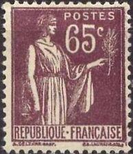 France num Yvert 284 ** MNH Type Paix Année 1932