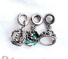 PANDORA Silver 925 Disney Ariel Seashell My Princess Tiara Crown Dangle Charm