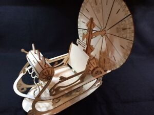The Time Machine by HG Wells Wooden Laser Cut Model/Puzzle Kit