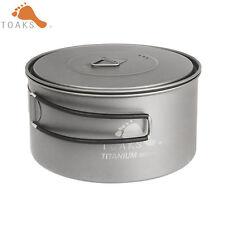TOAKS POT-900  Titanium Pans titanium Cookware Backpacking Cookware