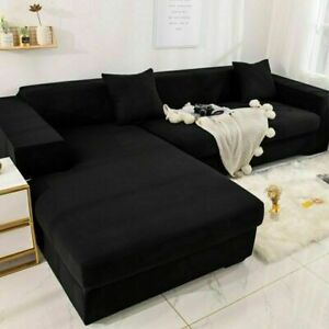 Funiture Protector Corner Sofa Covers Elastic Slipcovers Couch Covers Stretch