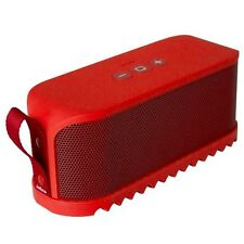 Jabra Solemate Wireless Bluetooth Stereo Altoparlante Portatile Rosso Dolby Digital +