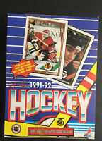 1991-92 O-Pee-Chee [Canada] NHL Hockey BOX, 36 Packs