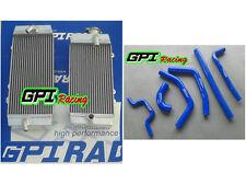R&L Aluminum Radiator &HOSE Kawasaki KXF250 KX 250F KX250F 09-10 2009 2010