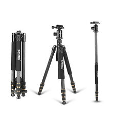 ZOMEI Z688C Carbon Fiber Tripod Monopod Travel for Canon Nikon Sony DSLR Camera