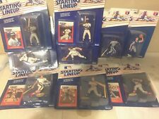 1988 Kenner Starting Lineup LOT of 9, all in boxes ROOKIES! must see
