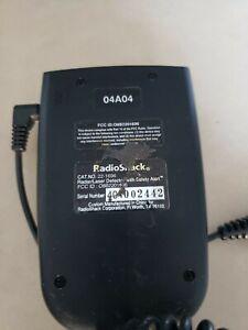 Radio Shack Safety Alert Traffic Warning System Radar/Laser Detecter