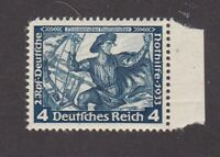 Germany stamp #B50, MNHOG, XF, w/selvage, 1933, SCV $15.00