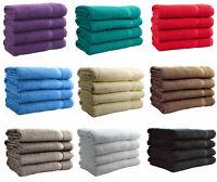4 x Large Bath Sheet Super Soft Pure Cotton Towel Bale Set