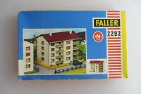 FALLER N BAUSATZ 2292 WOHNHAUS VINTAGE UNBENUTZT UNGEBASTELT OVP NEU NOS