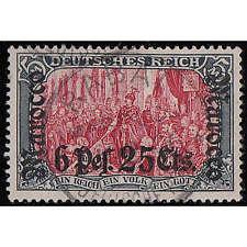 Deutsche Post in Marokko Nr. 33 gestempelt mit Fotobefund Jäschke-Lantelme
