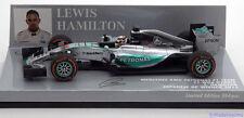 1:43 Minichamps Mercedes AMG W06 Winner GP Japan 2015 Hamilton