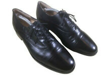 Lovely Quality Men's Black James Granville All Leather Oxford Shoes UK Size 8