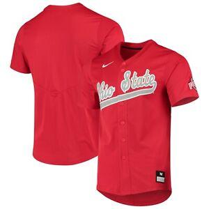 Nike Ohio State Buckeyes Scarlet Vapor Untouchable Elite Replica Baseball Jersey
