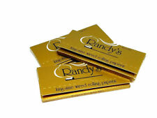 5 Packs of Randy's GOLD Wired King Size Rolling Paper Papers 24 Papers/Pack