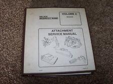 Bobcat Ingersoll Rand Backhoe Attachment Volume 2 Shop Service Repair Manual