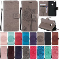 Slim Magnetic Leather Wallet Case For Samsung Galaxy S8/S9 Plus Flip Folio Cover