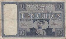 🇳🇱 10 Gulden - 1924 - Niederlande - P-43a 🇳🇱