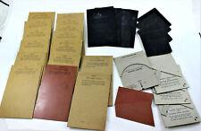 Lot 28 Kingsley Hot Foil Stamping Machine Cusion Boards Medium Soft Hard Rubber