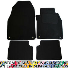 Saab 9-3 MK II 2002-2012 Fully Tailored 4 Piece Car Mat Set with 4 Ring Clips