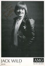 Oliver! Movie actor JACK WILD signed photo IMAGE No2