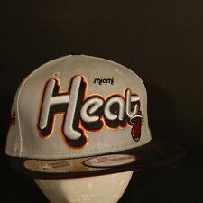 Miami Heat Hat Cap Snapback New Era Hardwood Classics Adjustable NBA Retro