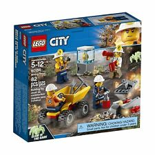 LEGO® City: Mining Team Building Play Set 60184 NEW NIB