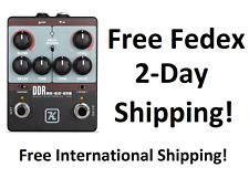 New Keeley Ddr Drive-Delay-Reverb Guitar Effects Pedal!