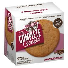 NEW SEALED LENNY & LARRY'S THE COMPLETE SNICKERDOODLE 16 OZ  BAKED NUTRITION