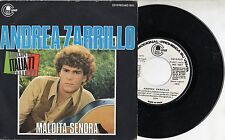 MICHELE ZARRILLO canta in SPAGNOLO raro disco 45 giri PROMO SPAIN Maldita senora