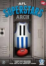 AFL Superstars Arch (DVD 3-Disc Set) Glen Archer North Melbourne New Kangaroos