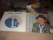 33RPM 2 Bing Crosby LPs both nice shape  E to E+