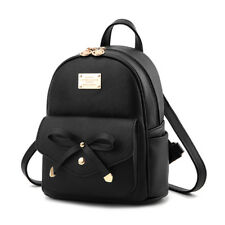 Girls Bowknot Bag PU Leather Backpack Mini Backpack Purse for Women Popular Lot