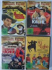 Western Sammlung - El Lobo - unheimliche Rächer - Texaner - Tal der Rache, Wayne