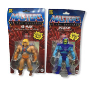 2020 Masters of the Universe Origins He Man & Skeletor Battle Figures Walmart