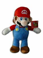 "OFFICIAL NINTENDO SUPER MARIO 12"" MARIO PLUSH SOFT TOY TEDDY NEW WITH TAGS"