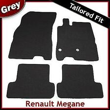 Renault Megane Mk3 2008-2016 Tailored Carpet Car Floor Mats GREY