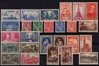 PP134210/ FRANCE / Y&T # 425 / 450 MINT MNH FULL SETS CV 245 $