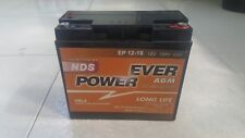 BATTERIA NDS POWER EVER AGM 12V 18 AH EP12-18 BOOSTER JUMP START NUOVA