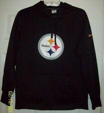 Nike Men's Pittsburgh Steelers Therma-Fit Hoodie Sweatshirt LARGE - EXCELLENT