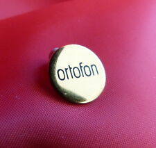 ORTOFON SPU HEADSHELL GOLD PLATED BADGE IN PERFECT CONDITION