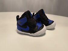 Nike Air Jordan 1 Crib Bootie Royal Blue Black Sz 1C Baby Shoes AT3745-007 New