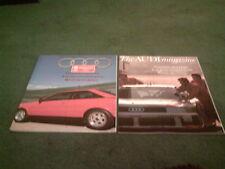 Winter 1988 + Summer 1989 AUDI UK MAGAZINE BROCHURE New Coupe V8 200 Trans Am 90