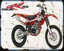 Beta 450Rr 11 A4 métal signe Moto Vintage Aged