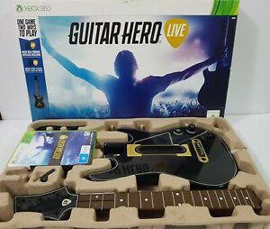 Guitar Hero Live Xbox 360 game + Guitar Controller - Boxed