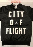 NIKE AIR JORDAN CITY OF FLIGHT REVERSIBLE BOYS MENS BOMBER JACKET NEW WITH TAGS