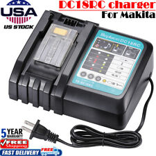 For Makita Dc18Rc Rapid Fast Lithium Battery Charger Bl1850 Bl1830 Lxt-40 194065