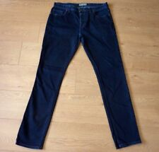 Next Est 1982 Men Slim Fit Blue Jeans Size 36L Superior Quality Goods