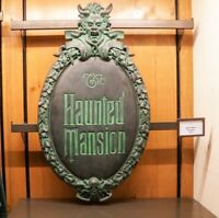Haunted Mansion Gate Plaque Full-Size Replica Sign - Art of Disney Theme Parks